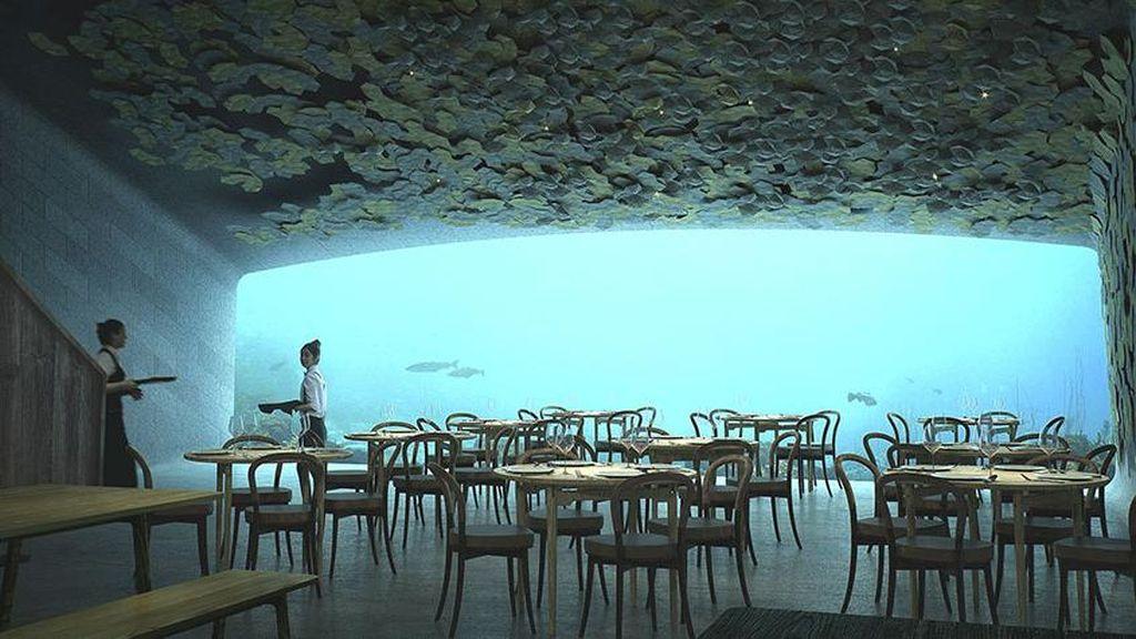 Mengintip Rencana Desain Restoran Bawah Laut Pertama di Eropa