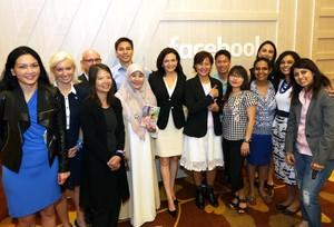 Dua Wanita Inspiratif Indonesia Bertemu Bos Facebook
