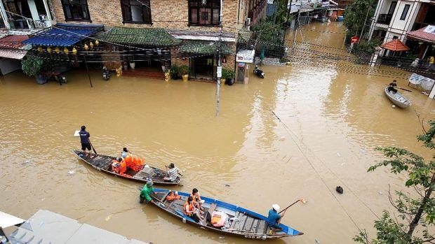 Banjir di Hoi An, Vietnam