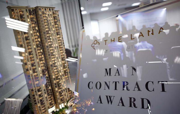 PT Brewin Mesa Development mengatakan proyek apartemen mewah The Lana harganya terus merangkak naik karena mendapat sambutan yang luas.