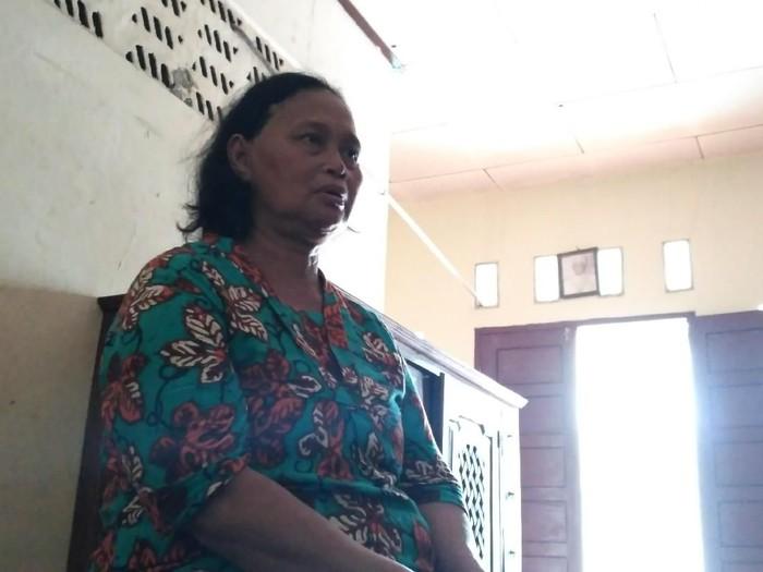 Istri mantan penderita kusta di kampung kusta Jakarta. Foto: Erika Kurnia/detikHealth