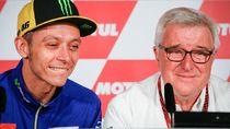 Valentino Rossi Beri Kejutan Komentator MotoGP yang Pensiun