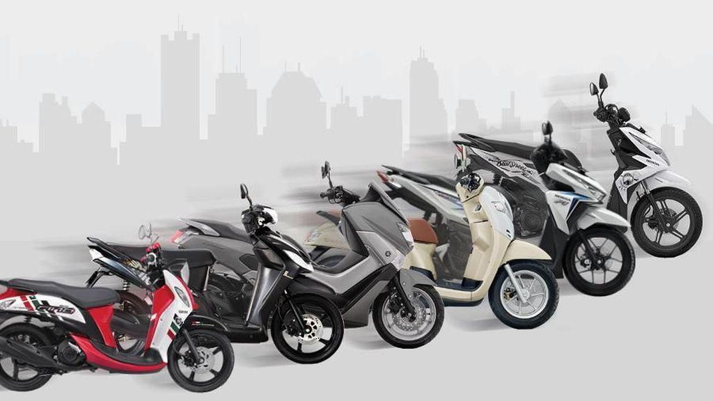 Honda Dominasi 10 Motor Terlaris April 2018
