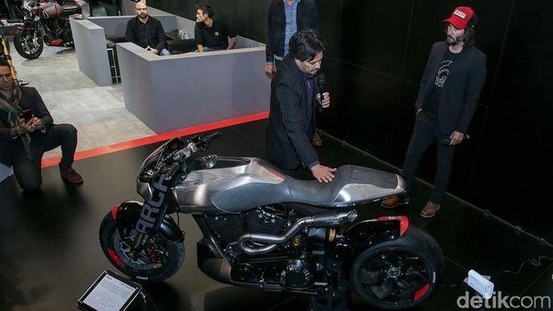 Cantiknya Motor Racikan Keanu Reeves