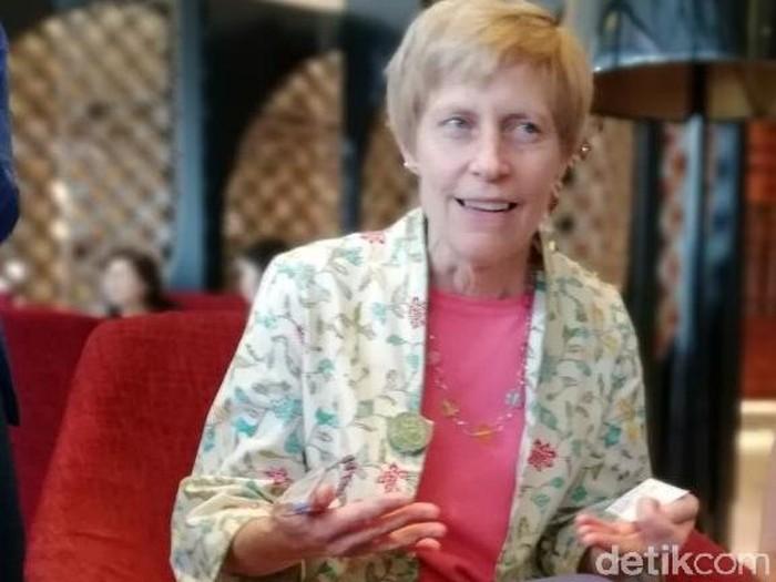 Susie Armstrong. Foto: Adi Fida Rachman/detikINET
