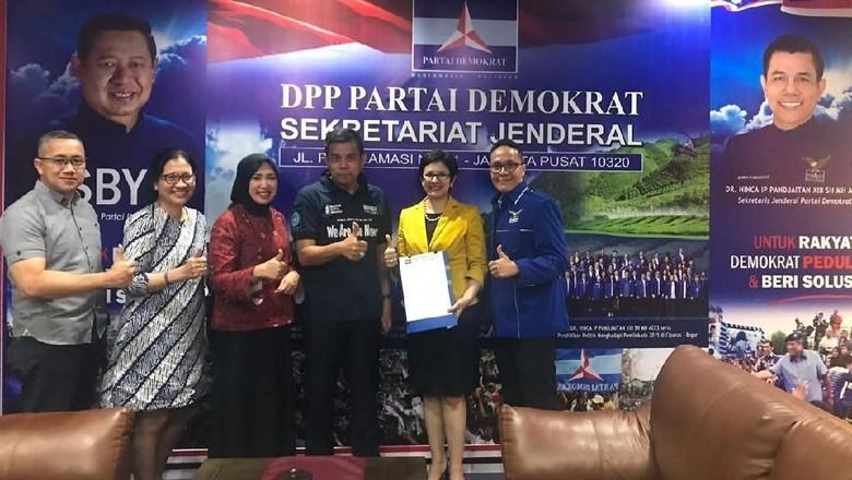 Demokrat Dukung Nurul Arifin-Ruli Hidayat Maju Pilwalkot Bandung