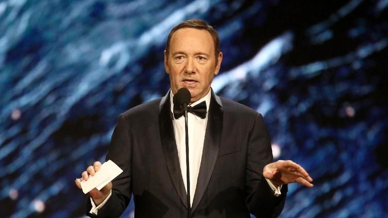 Skandal Pelecehan Seksual Berujung Merosotnya Karier Akting Kevin Spacey