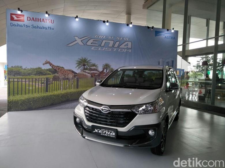 Daihatsu Xenia Custom. Foto: Ruly Kurniawan