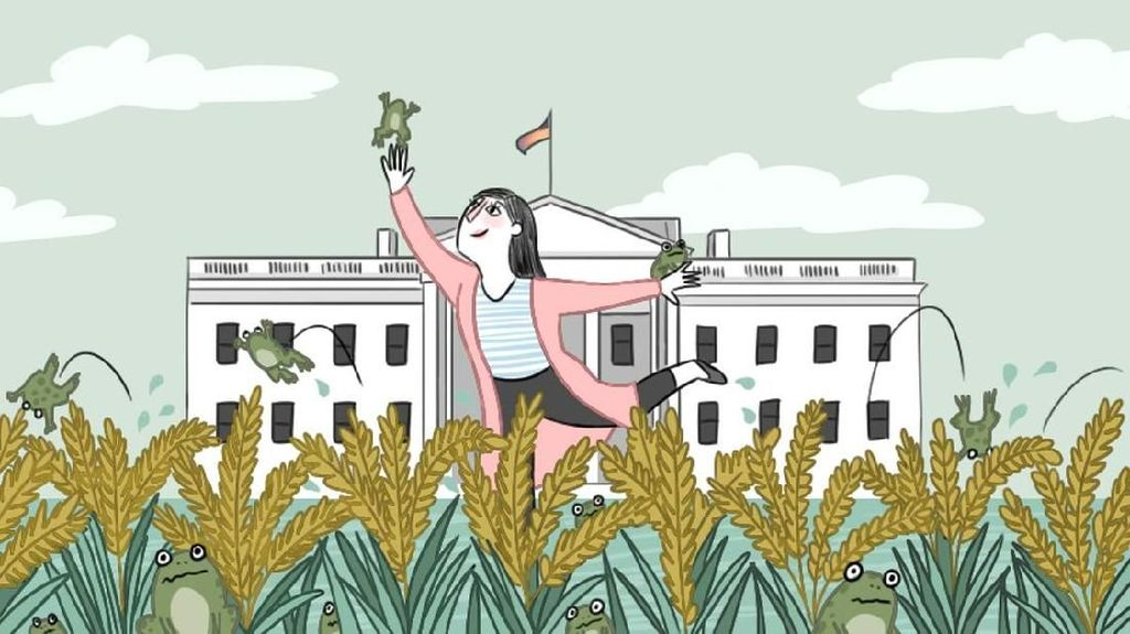 Di Mana Kodok di Musim Gugur di Washington?