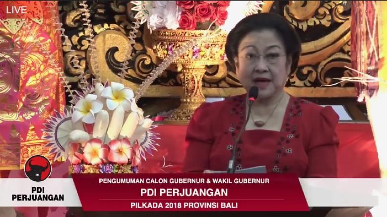 Megawati Umumkan Cagub Bali, Kantor PDIP Disulap Ala Pulau Dewata