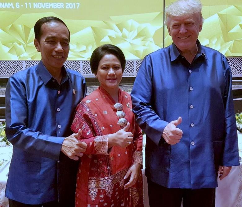 Trump Bincang Akrab dengan Iriana, Apa Saja yang Dibahas?