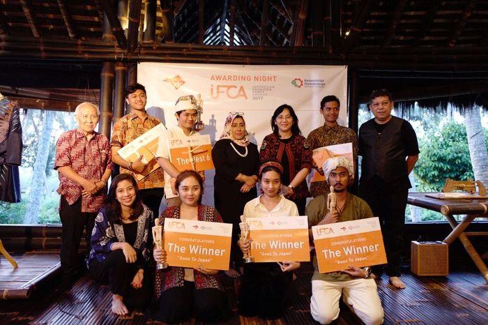 Penganugerahan Pemenang Indonesian Fashion and Craft Award (IFCA) 2017 di Bali (Dok. Kemenperin)