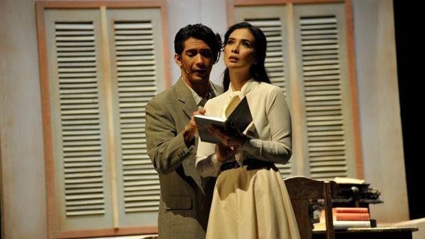 Melihat Chairil Anwar di Panggung 'Perempuan-Perempuan Chairil'