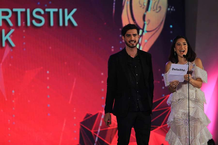 Kemeriahan Malam Penganugerahan Piala Citra di FFI 2017