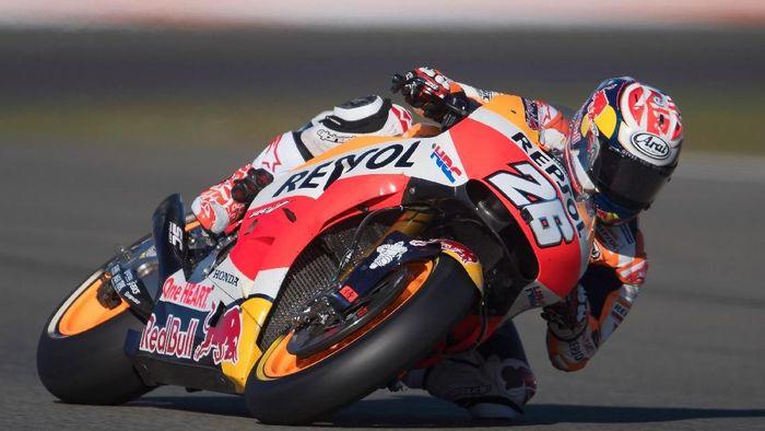 Dani Pedrosa menangi MotoGP Valencia 2017 (Mirco Lazzari gp/Getty Images)