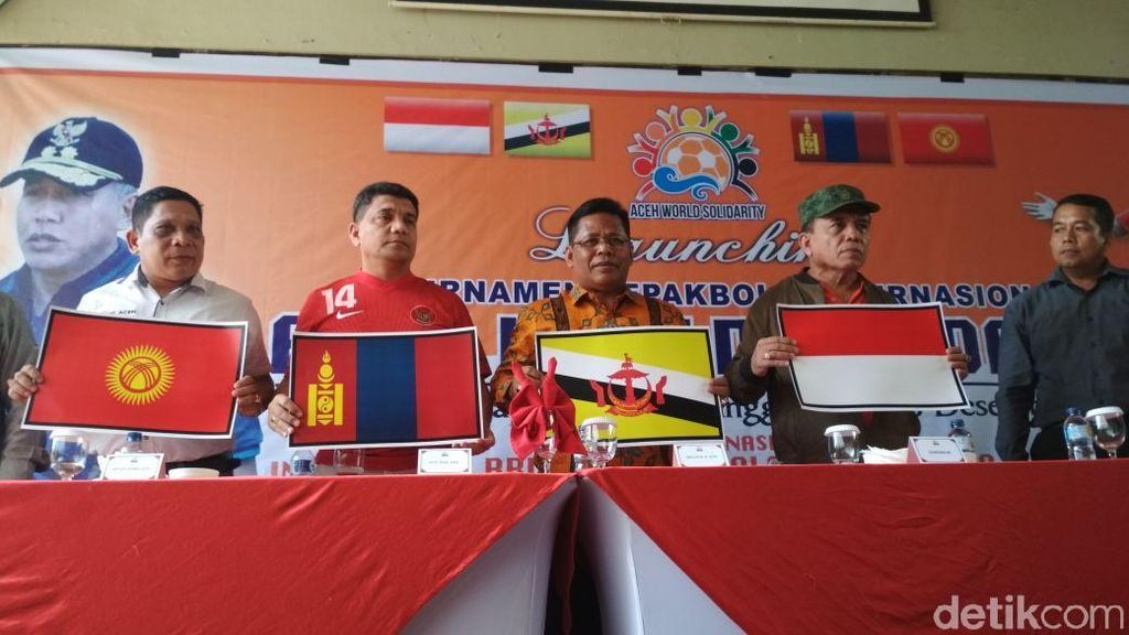 4 Negara Ramaikan Aceh World Solidarity Cup