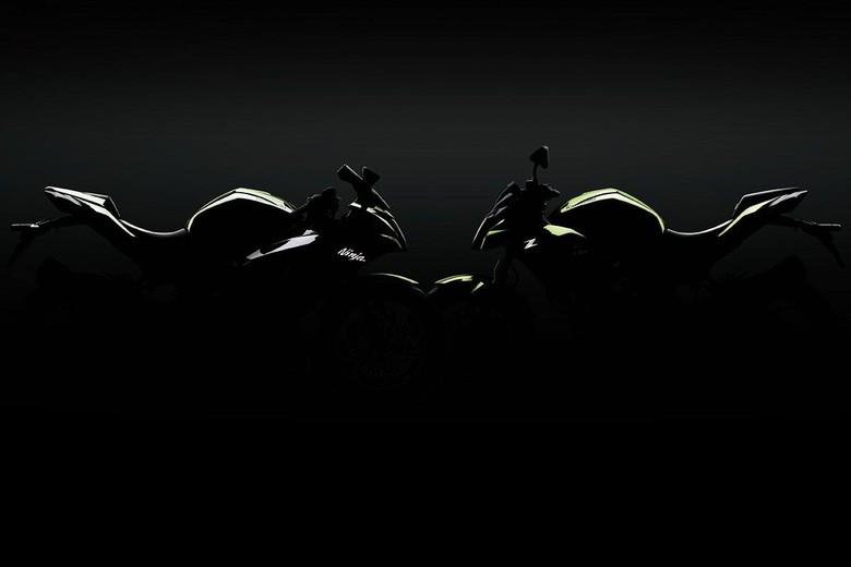 Siluet Kawasaki Ninja 125 dan Z 125 (Foto: Dok. Kawasaki)
