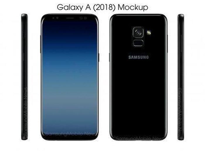 Galaxy A7 2018 Punya Layar Ala S8