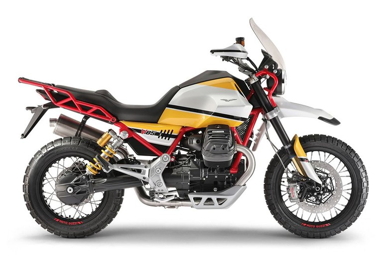 Motor Petualang Moto Guzzi V85. (Foto: Moto Guzzi)