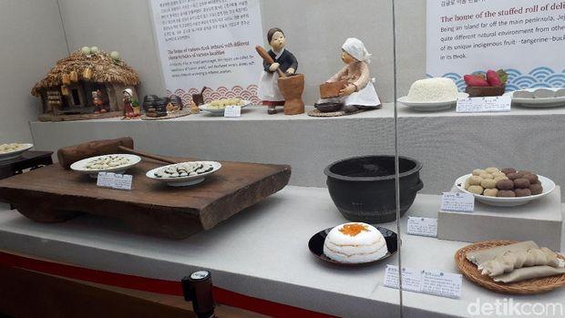 Belajar Bikin Kue Beras di Museum Tteok Korea Selatan