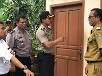 Kapolresta Tangerang AKBP Sabilul Alif mendatangi TKP.