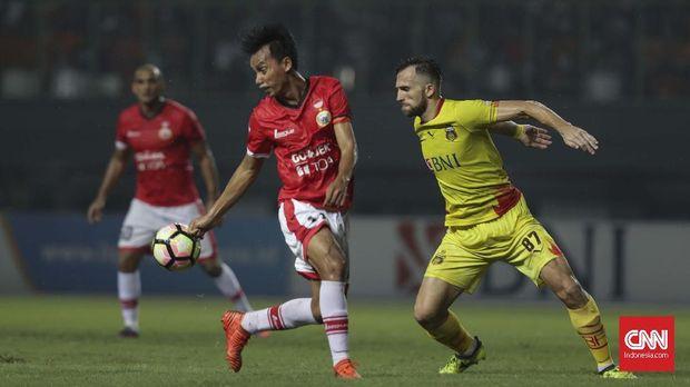 Persija sempat menggelar laga Liga 1 di Stadion Patriot Candrabhaga.