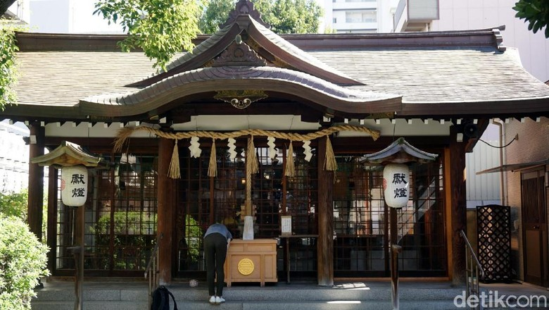 Kuil Samuhara di Osaka, Jepang (Wahyu/detikTravel)