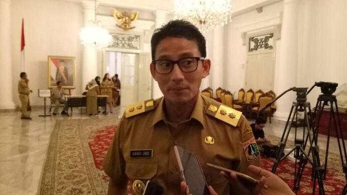 Foto: Wagub DKI Jakarta Sandiaga Uno (Zhacky/detikcom)