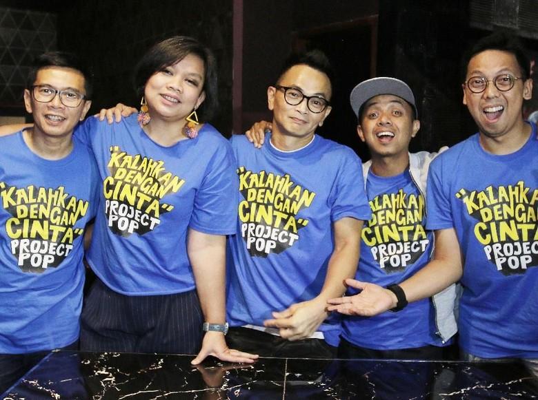 Redam Tensi Panas Medsos, Project Pop Coba Kalahkan dengan Cinta