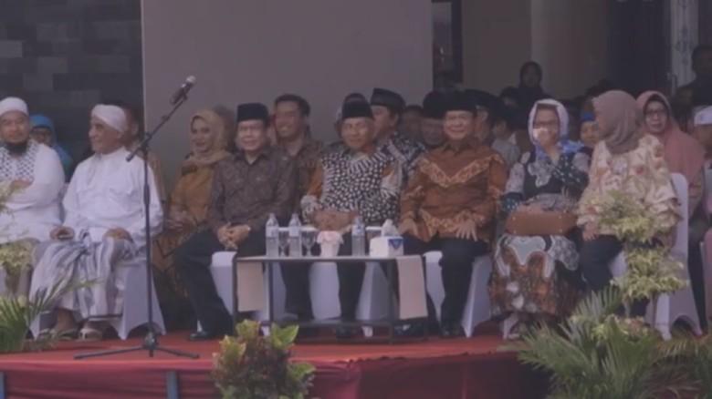 Prabowo dan Amien Rais Peringati Hari Pahlawan di Yogyakarta