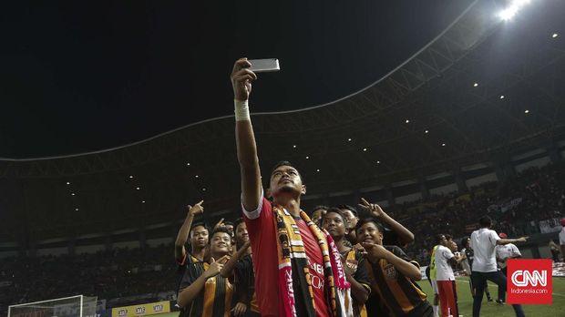 Bambang Pamungkas sudah dua kali mencicipi gelar juara Liga Indonesia bersama Persija.