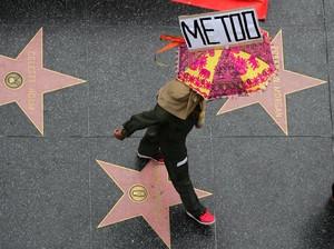 Perempuan Ramai-ramai Serukan #MeToo di Hollywood