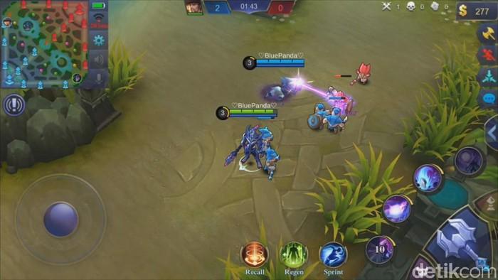 Mobile Legends. Foto: screenshot detikINET