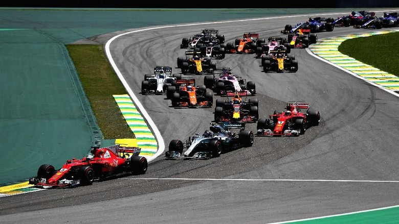 Hasil F1 GP Brasil