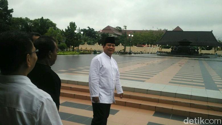 Prabowo di Yogyakarta: Lebih Baik Hancur Daripada Dijajah Kembali