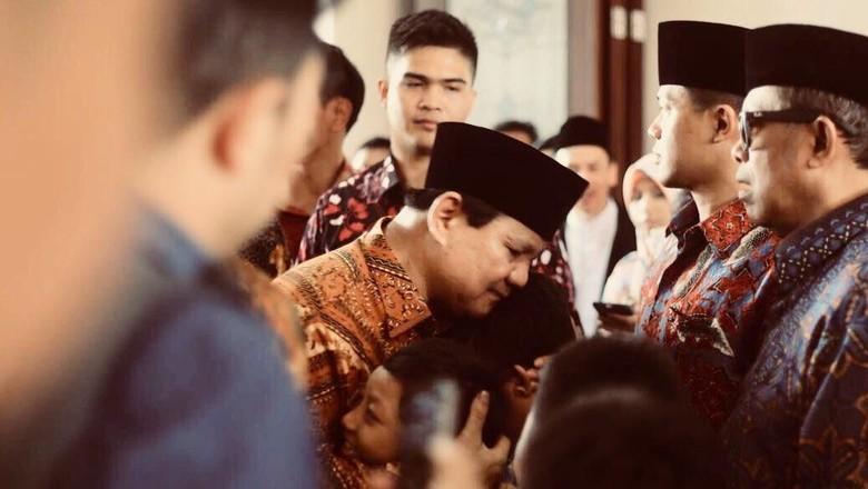 Ngetweet Lagi, Prabowo Bicara soal Infrastruktur dan Pendidikan