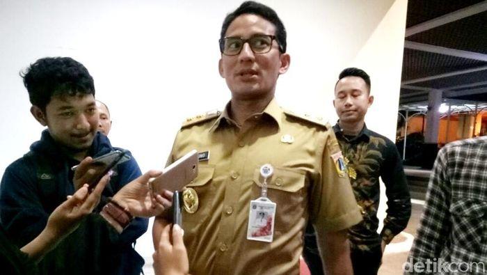 Wagub DKI Jakarta Sandiaga Uno (Mochammad Zhacky/detikcom)