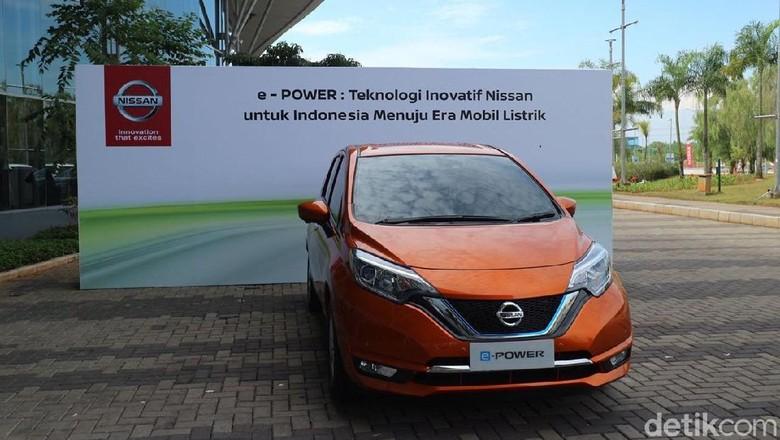 mobil listrik Nissan e-Power Foto: Dina Rayanti