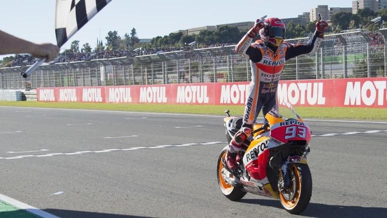 Marquez: 27,5 Crash Menuju Tangga Juara Dunia