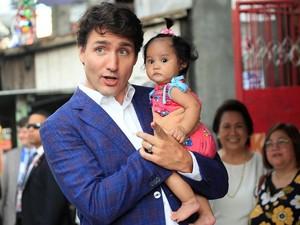 Melihat Gaya Blusukan PM Kanada di Manila