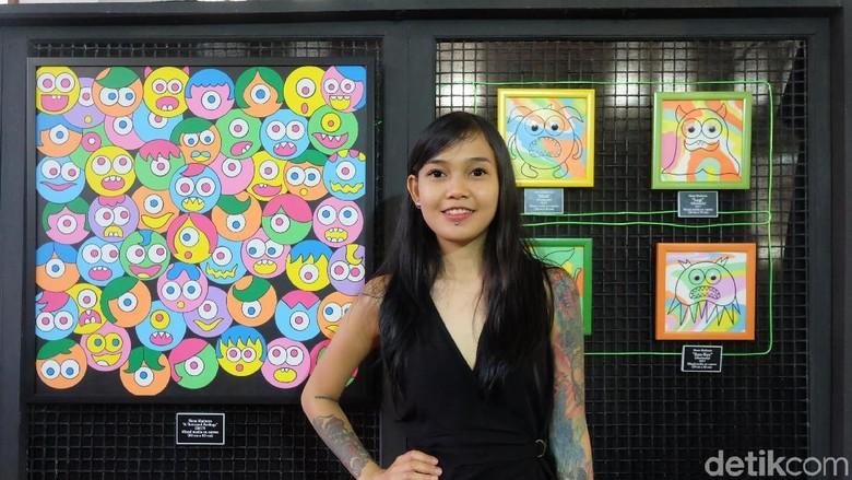 Gangguan Bipolar Tak Halangi Hana Madness Berkarya Sebagai Seniman