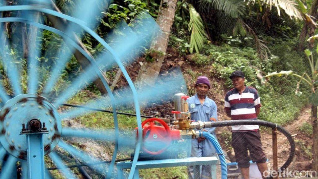 Apa Energi yang Dihasilkan dari Perputaran Kincir Air di Sungai atau Bendungan?