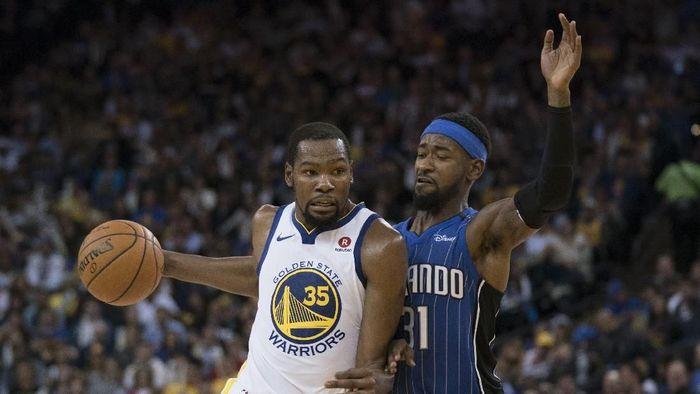 Golden State Warriors menambah rentetan kemenangan usai mengalahkan Orlando Magic (Foto: Kyle Terada-USA TODAY Sports)