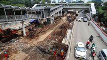 Sandi Harap Proyek Underpass Mampang Selesai Awal Maret