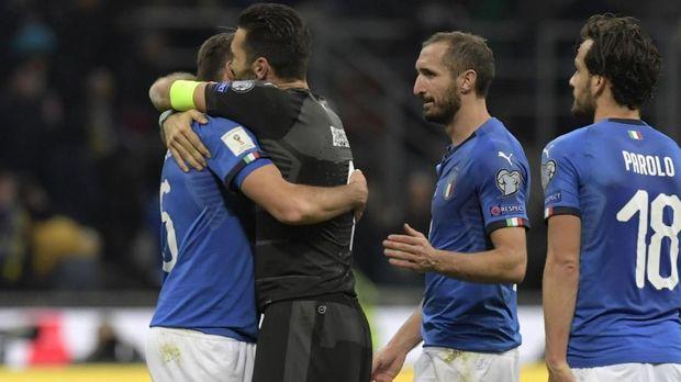 Timnas Italia gagal melangkah ke putaran final Piala Dunia 2018.