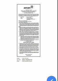 Surat RUPSLB Antam