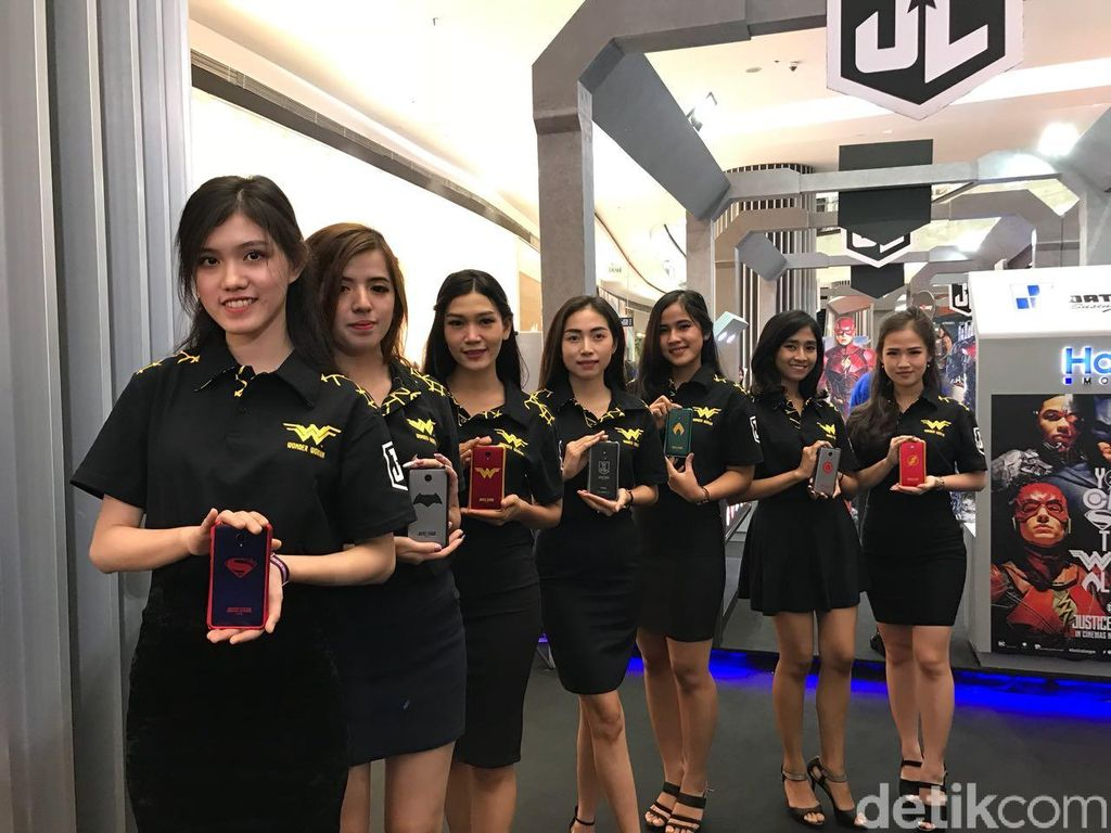 Ponsel terbaru Haier bernama G7 dan L7. (Foto: detikINET/Adi Fida Rahman)