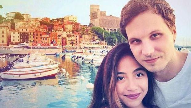 Nadia Vega dan suami di instagram.