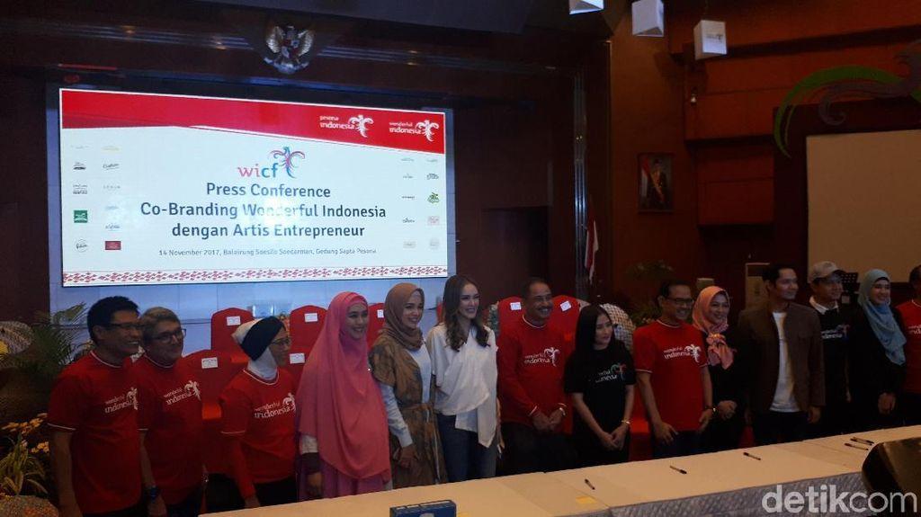 Gencar Promosikan Wonderful Indonesia, Kemenpar Gandeng Artis-artis Pengusaha