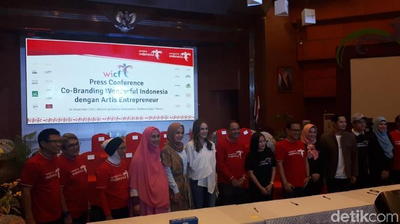 Artis Wonderful Indonesia (Shinta/detikTravel)